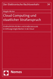 Cloud Computing und staatlicher Strafanspruch