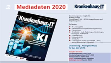 Mediadaten Krankenhaus-IT Journal 2020