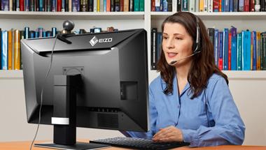 Mit EIZO RadiForce-Monitoren optimal für die Teleradiologie ausgerüstet