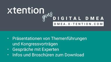 Der digitale Messeauftritt der x-tention Unternehmensgruppe