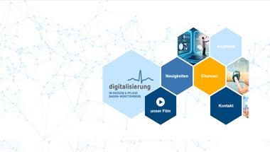 Informationsplattform zur Digitalisierung im Gesundheitswesen veröffentlicht