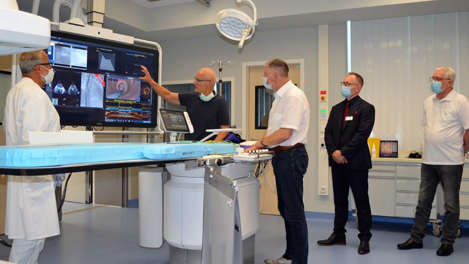 Eröffnung Herzkatheterlabor im Gesundheitszentrum Bitterfeld Wolfen
