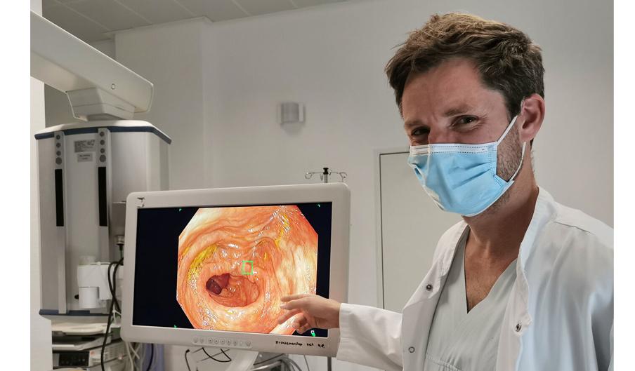 Mit Künstlicher Intelligenz dem Darmkrebs auf der Spur