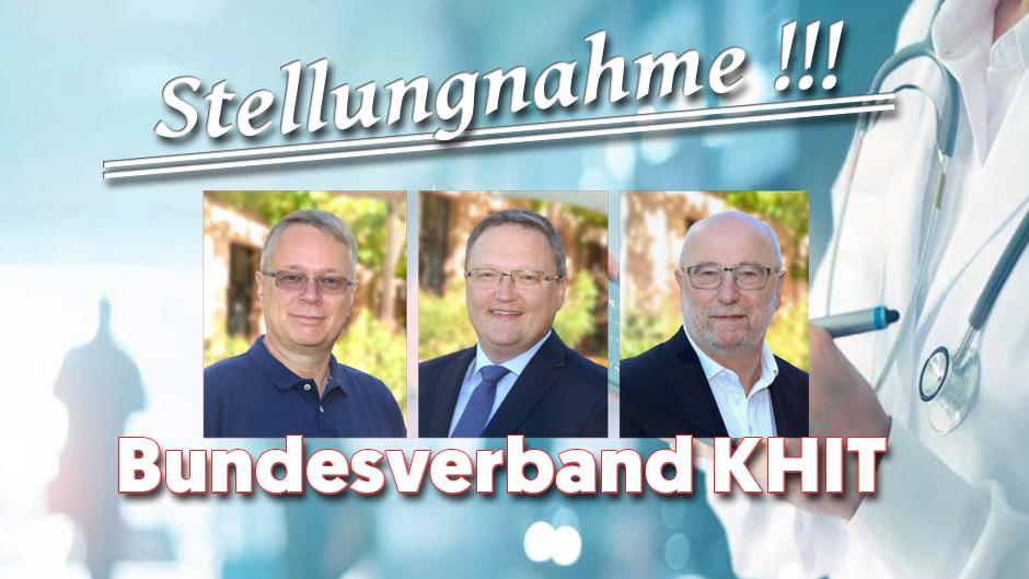 Stellungnahme des Bundesverbands der Krankenhaus-IT-Leiterinnen und -Leiter KH-IT e.V. zum Entwurf der Förderrichtlinie zum KHZG
