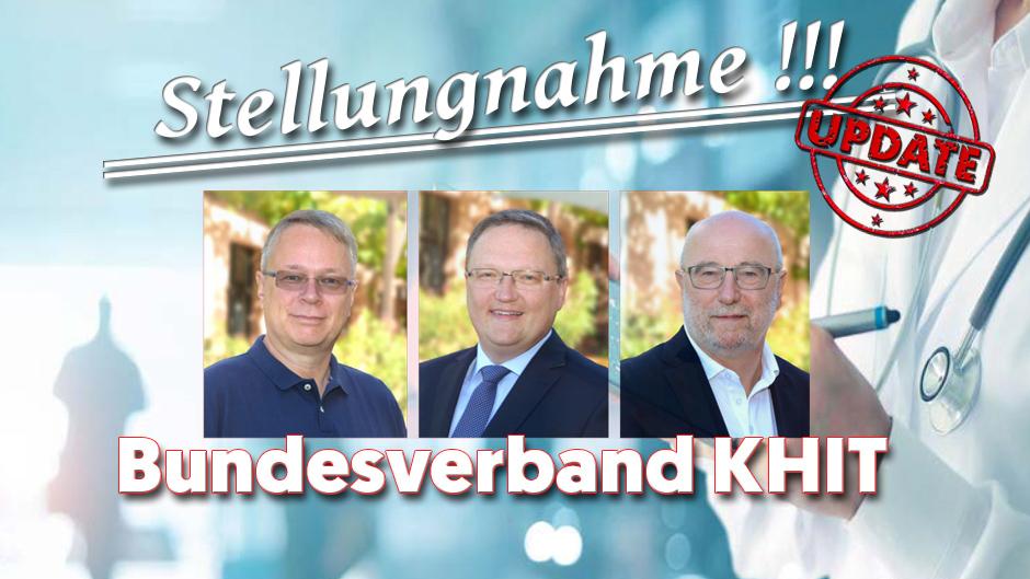 Stellungnahme des Bundesverbands der Krankenhaus-IT-Leiterinnen und -Leiter KH-IT e.V. zur finalen Fassung der Förderrichtlinie zum KHZG