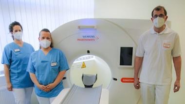 Neues Computer-Tomographie Gerät der BDH-Klinik Greifswald