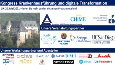Kongress Krankenhausführung und digitale Transformation - Zertifizierung zum CHCIO