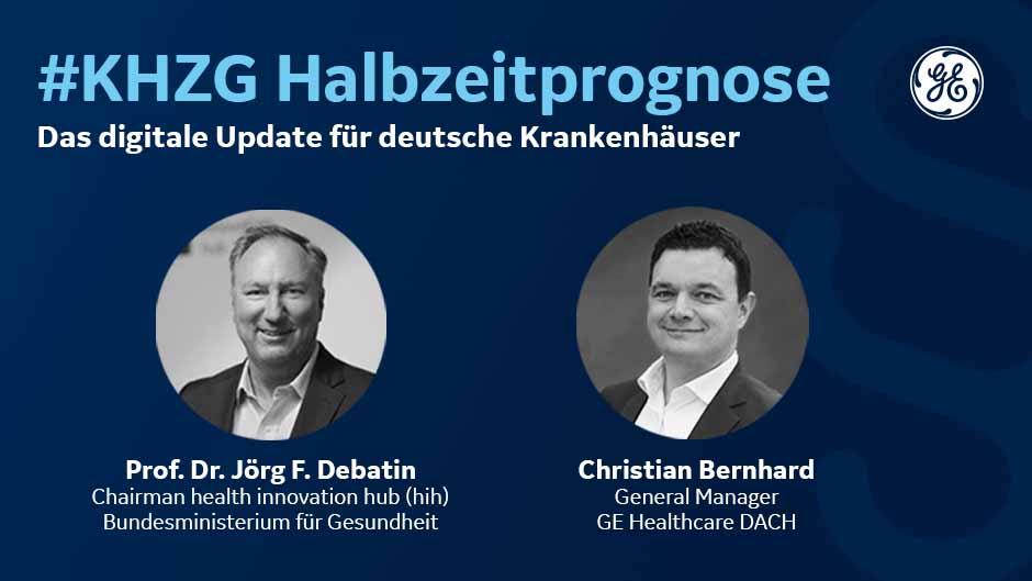 Halbzeitprognose zum KHZG mit Prof. Dr. Jörg F. Debatin
