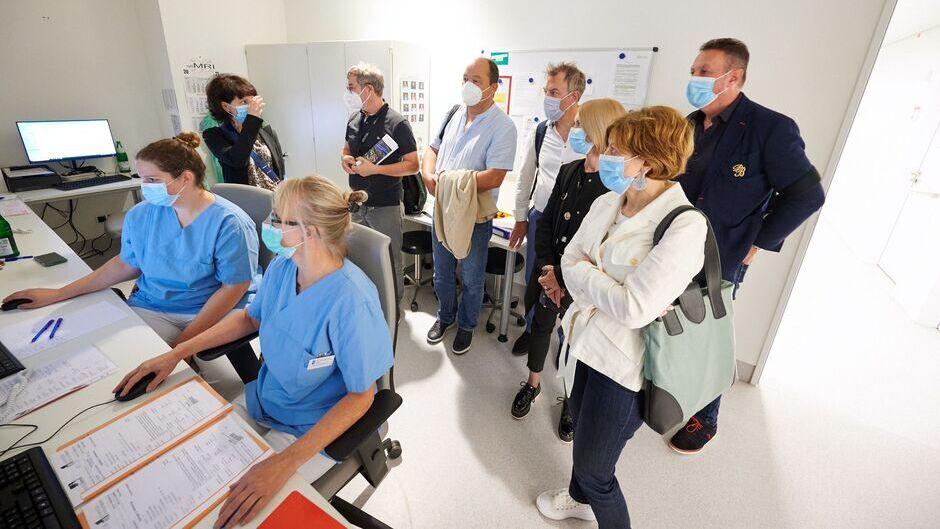 Internationaler Austausch zum Klinikneubau in der Kindermedizin