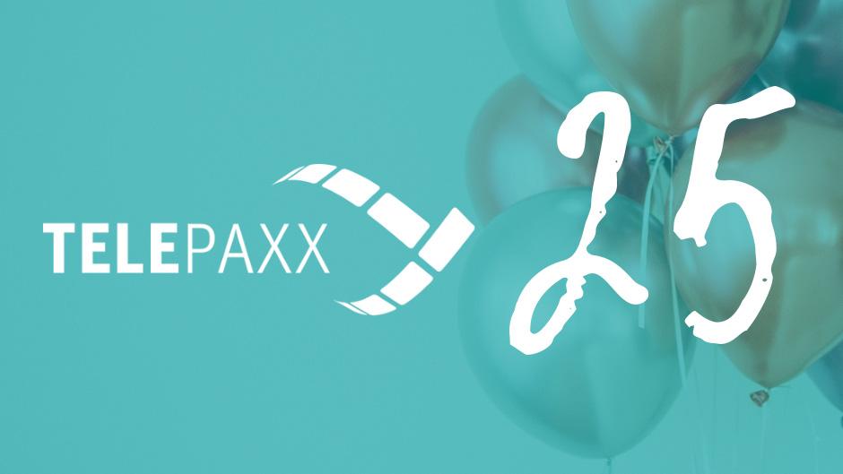 Telepaxx feiert Firmenjubiläum
